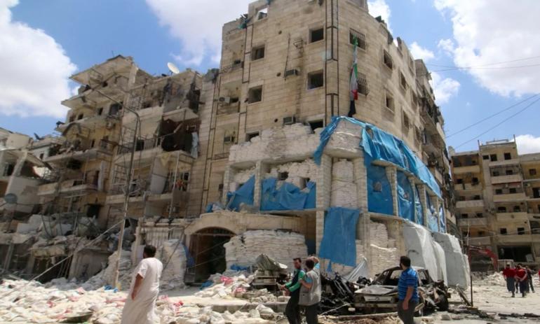 Al Quds hospital strike