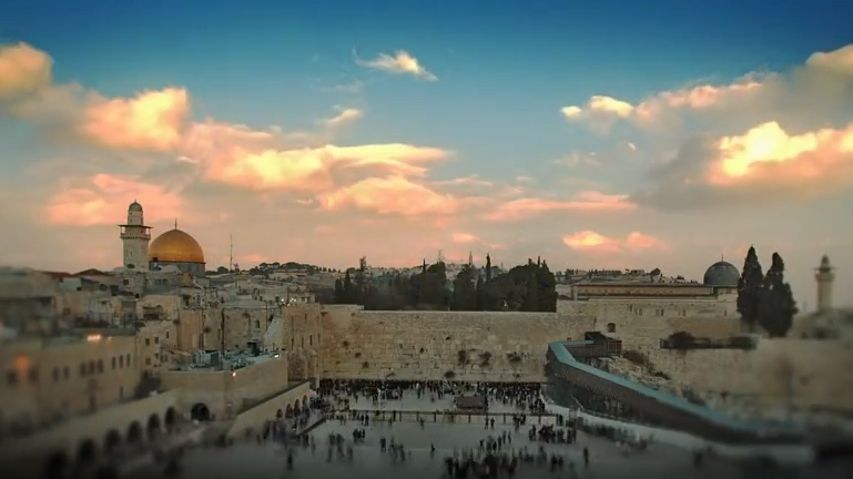 Jerusalem sky