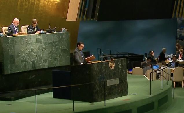 Danny Dannon at the UN