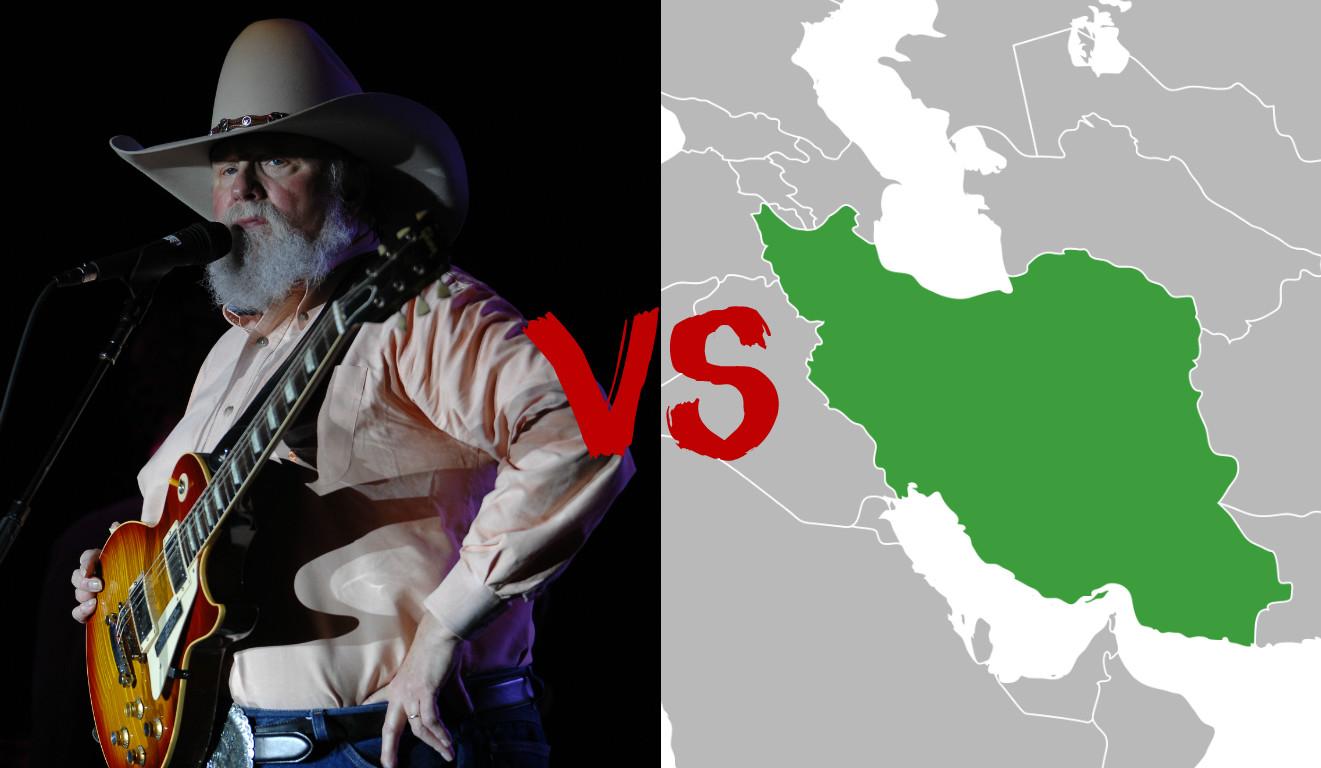 Charlie Daniels vs. Iran