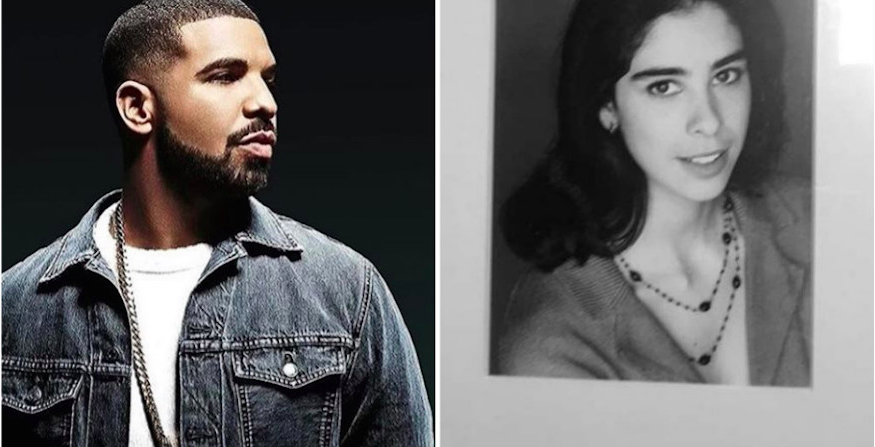 drake has a crush on sarah silverman