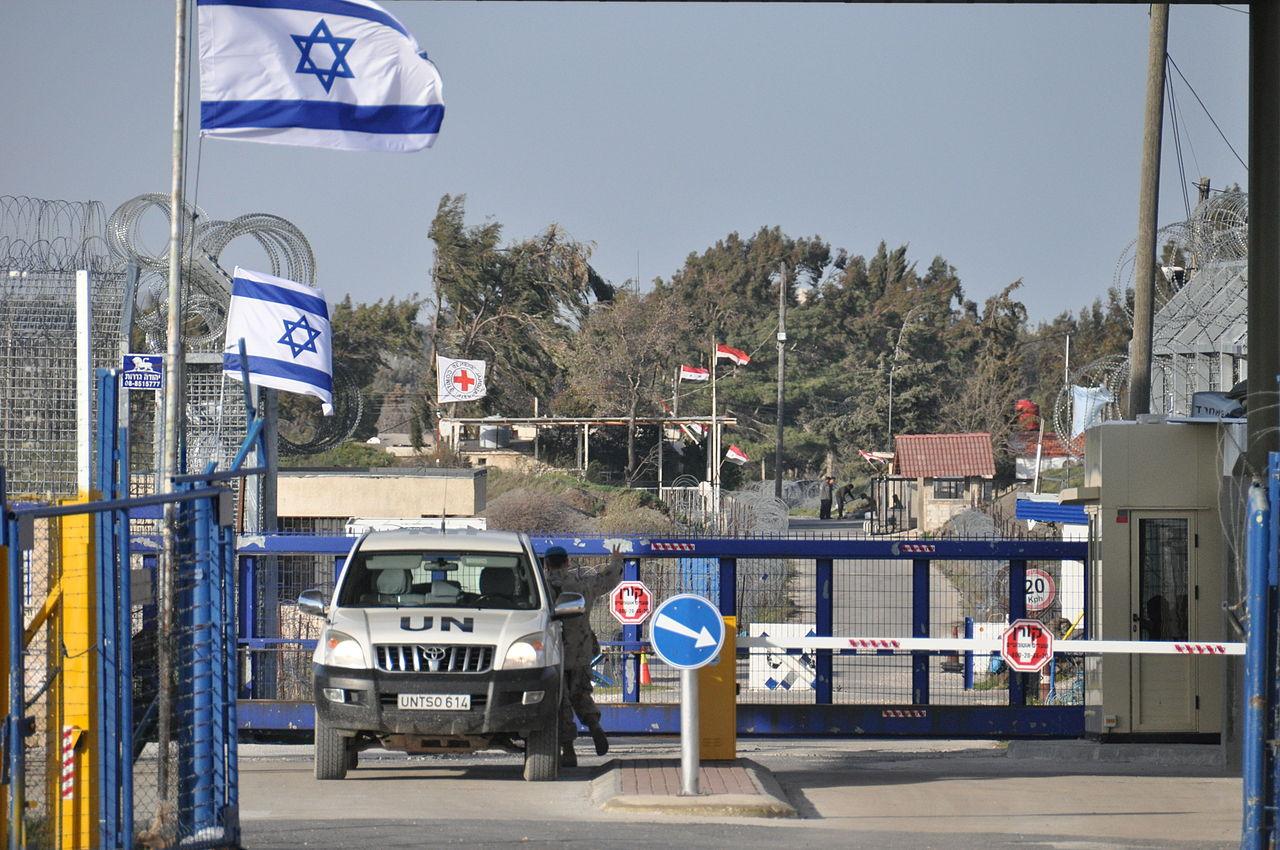 Golan Heights border