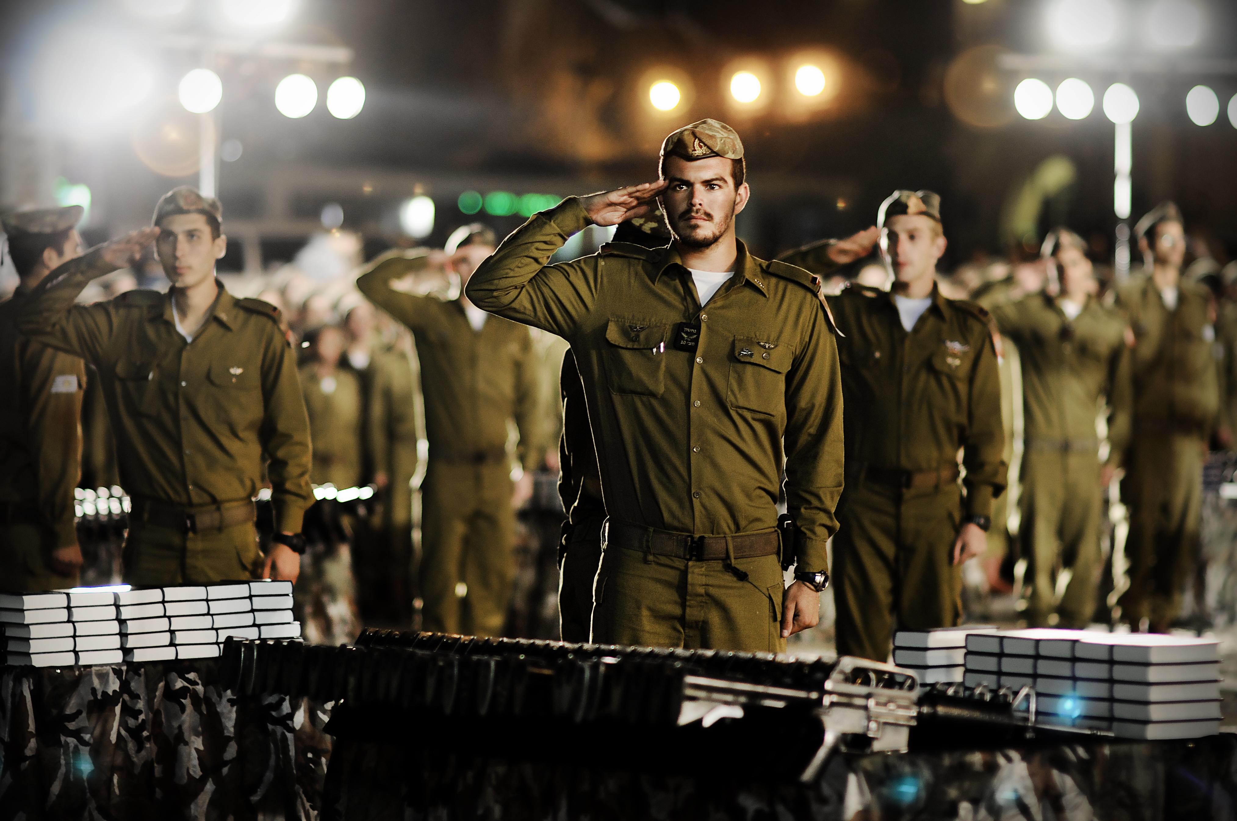 IDF salute