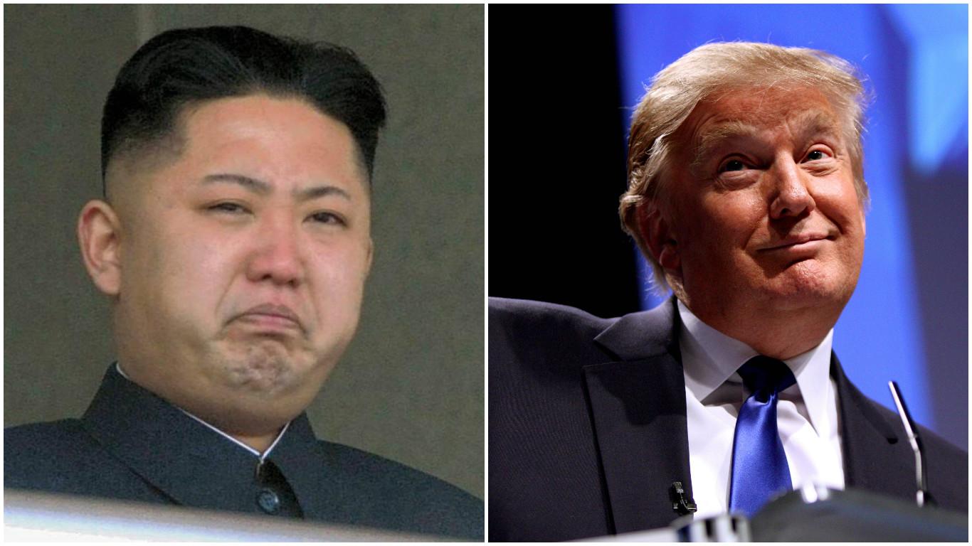 Trump & Kim Jong-un