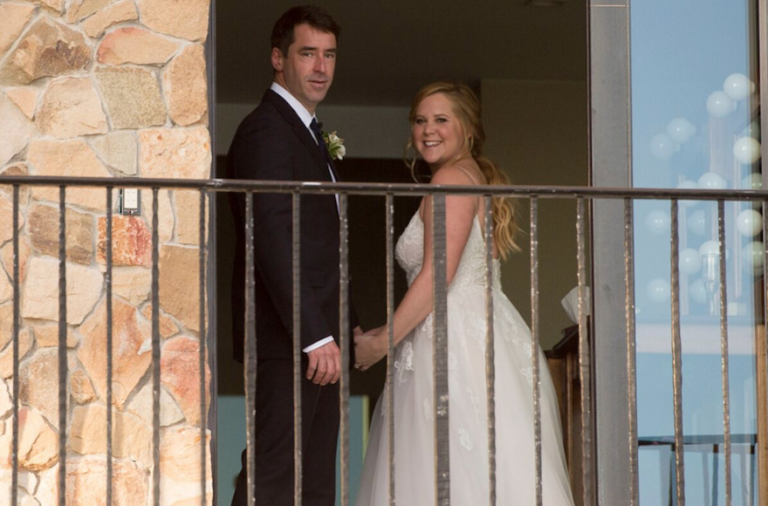 88b4194f5b Amy Schumer Weds Chef Chris Fischer in Private Ceremony