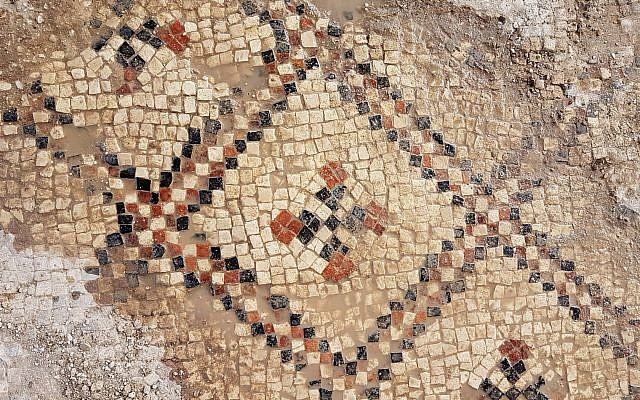 Image result for Colored, 1,500-year-old Mosaic Floor
